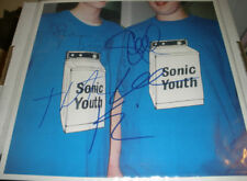 SONIC YOUTH WASHING MACHINE SIGNED PROMO FLAT BY ALL 4