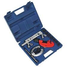 Sealey Copper/Brass/Alloy Brake Pipe Flaring/Cutting Tubing Tool Kit 10pc- AK506
