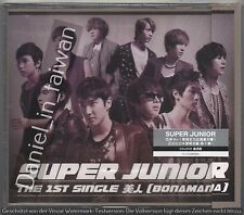 Super Junior: Bonamana 1st Japanese Single (2011) Korea Japan / CD & DVD TAIWAN