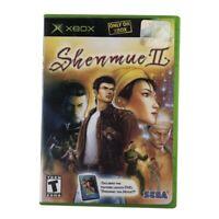 Shenmue II (Microsoft Xbox, 2002) Complete w/Manual & DVD