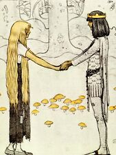 PAINTING PRINCE WITHOUT SHADOW JOHN BAUER LARGE WALL ART PRINT POSTER LF2200