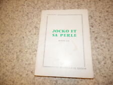 1967.Jocko et sa perle.Emile Furcy (envoi)