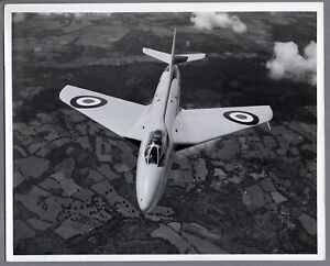 HAWKER HUNTER PROTOTYPE WB188 LARGE VINTAGE ORIGINAL CYRIL PECKHAM PHOTO RAF 5