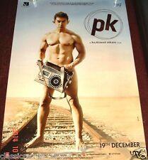 "PK (2014) DS MOVIE POSTER AAMIR KHAN BOLLYWOOD  KHAN 27 ""X 39"" DOUBLE SIDED"