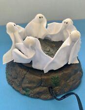 "Dept. 56 Halloween Village Accessories ""The Ghost Dance"" Animated Scene - Htf!"