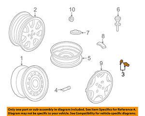 HONDA OEM Wheel-Lug Nut 90304SA5013