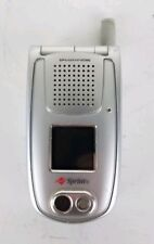 Sanyo PM-8200(S) Silver Dual-Band Sprint Cellular Phone Untested for Parts