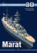 Kagero Super Drawings in 3D 59: The Russian Battleship Marat