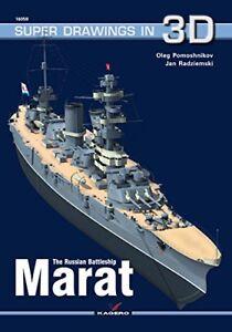 Kagero Super Drawings in 3D 59: The Russian Battleship Marat