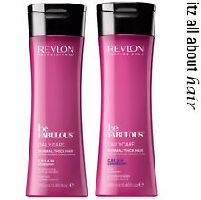 Revlon Professional Be Fabulous Daily Care Normal/Thick C.R.E.A.M Sham Cond Duo