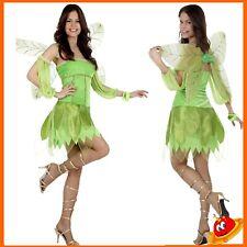 Costume Carnevale Halloween Donna Ragazza Principessa Fata Verde Winx Trilly