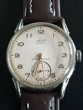 Gents Vintage Military Style Lorton Watch Co 15 Jewel AS 1130 Wehrmachtswerk