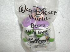 Kelloggs Cereal Disneys Toy Story Buzz Mini Bean 2001 Promo NEW