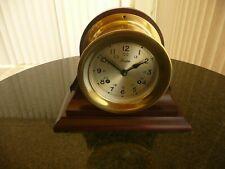 4.5 Vintage Boston/Chelsea shipstrike clock, solid brass case Ca.1975 restored.