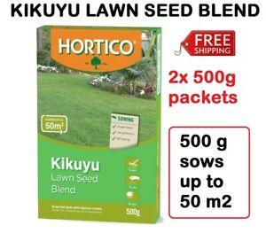 1kg KIKUYU Lawn Turf Grass Seed Blend Vigorous Hard Wearing Drought Tolerant