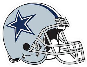 Dallas Cowboys Helmet Decal ~ Car / Truck Vinyl Sticker - Wall Graphics