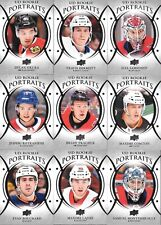 U PICK EM LOT 2018-19 18-19 Upper Deck Series 1 & 2 UD Portraits RC card set