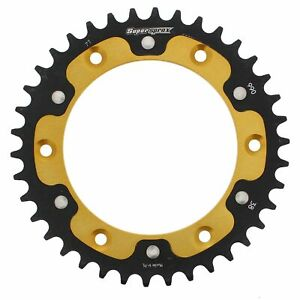 New Supersprox -Stealth sprocket, 38T for Yamaha 450FX 10-11, Gold