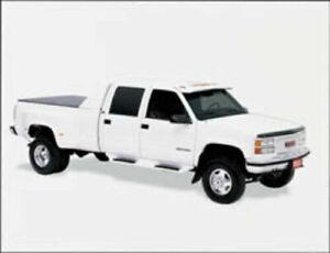 LUND Black Running Board 55104 fits GMC Chevy Chevrolet