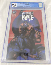 Batman: Vengeance Of Bane Special #1 CGC 9.8 White Pages (1st Appearance Bane)