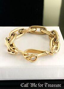 Henri Bendel oval link chunky chain bracelet