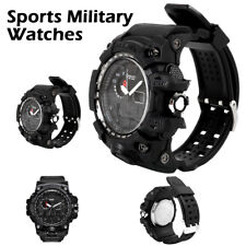 UK! SMAEL Waterproof Sports Military Shock Men's Analog Quartz Digital Watches