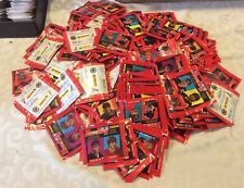 Lot Of 350 1991-92 Panini Hockey Album Stickers Wax Packs