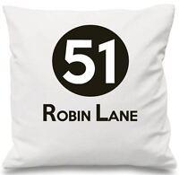 Luxury Personalised Cushion Cover Wedding Gift Number Address Family Birthday