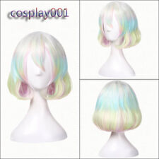 Land of the Lustrous Diamond Cosplay Wig Houseki no Kuni Gradient Colorful Wigs