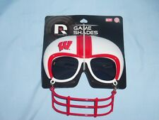 WISCONSIN BADGERS   Sunglasses GAME SHADES    by Rico   NIP