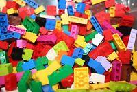 Lego ® 200 Basic Steine - gut gemischt - nur HOHE Steine - versch. Farben u. Gr.