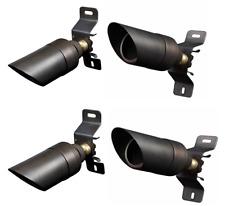 LED Low Voltage Brass Down Light Outdoor Landscape Lighting 4 pk (Free MR16)