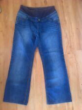 Ladies Blue Denim Maternity Jeans PUMPKIN PATCH Size Small 8-10 S