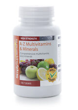 A to Z Multivitamins & Minerals 360 Tablets General Health, Wellbeing & Vitality