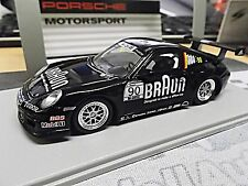 PORSCHE 911 997 GT3 Cup Supercup 2010 BRAUN #90 VIP CAR Spark Resin 1:43
