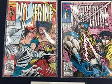 Lot of 5 WOLVERINE Marvel Comic books VF/NM