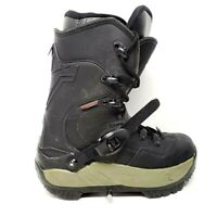 Rossignol Mens Snowboard Boots Black Lace Up Steel Toe Buckle 8
