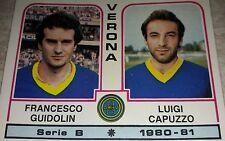 FIGURINA CALCIATORI PANINI 1980/81 VERONA N° 534 ALBUM 1981