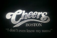 Cheers Boston - Bar Show - Black Tshirt Adult Size M - I Don't Even Know My Name