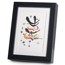 Sparkle With Happiness Black Frame A5 Japanese Print