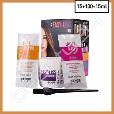 Easy Liss Kit Hair Smoothing Disciplining Anti Frizz System Formaldehyde Free