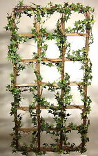 Efeu-Spalier 60 x 120cm, Set a 2 Stück Kunstpflanze - künstlicher Efeu