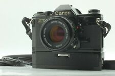 [EXC+5] Canon AE-1 35mm SLR W/ NFD 50mm F/1.8 Power Winder A from Japan #028