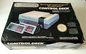 Console Nintendo NES En Boite Complète + 2 Manettes - FRA