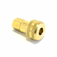 "Foster FM3003 - 1/4"" Female NPT x 1/4"" Quick Coupler Air Hose Fittings Brass M"