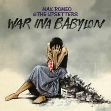 Max ROMEO & The Upsetters War INA Babylon LP Colored Vinyl 4 Men With Beard