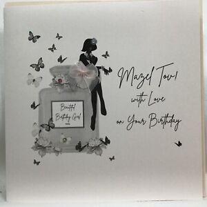 Beautiful Five Dollar Shake. Women's Birthday Card - Mazel Tov! With Love