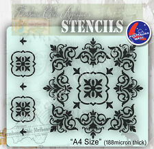 Mylar Furniture Stencil, Mandala, Wall Stencil, Shabby Chic French Stencil