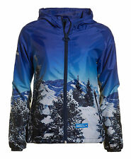 New Womens Superdry Unique Sample Winter Mountain Cagoule Size Small