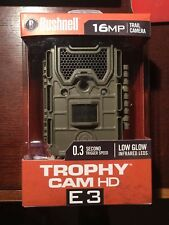 2017 Bushnell Trophy Cam HD Essential E3 Digital Low-Glow Trail Camera - 119837C